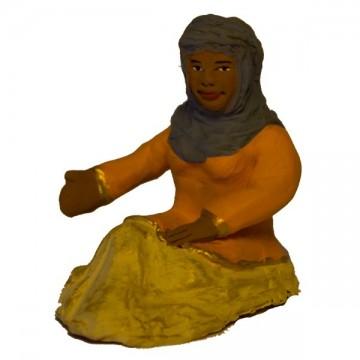 femme assise modèle N°1 collection orientale