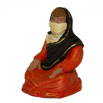 femme assise modèle N°2 collection orientale