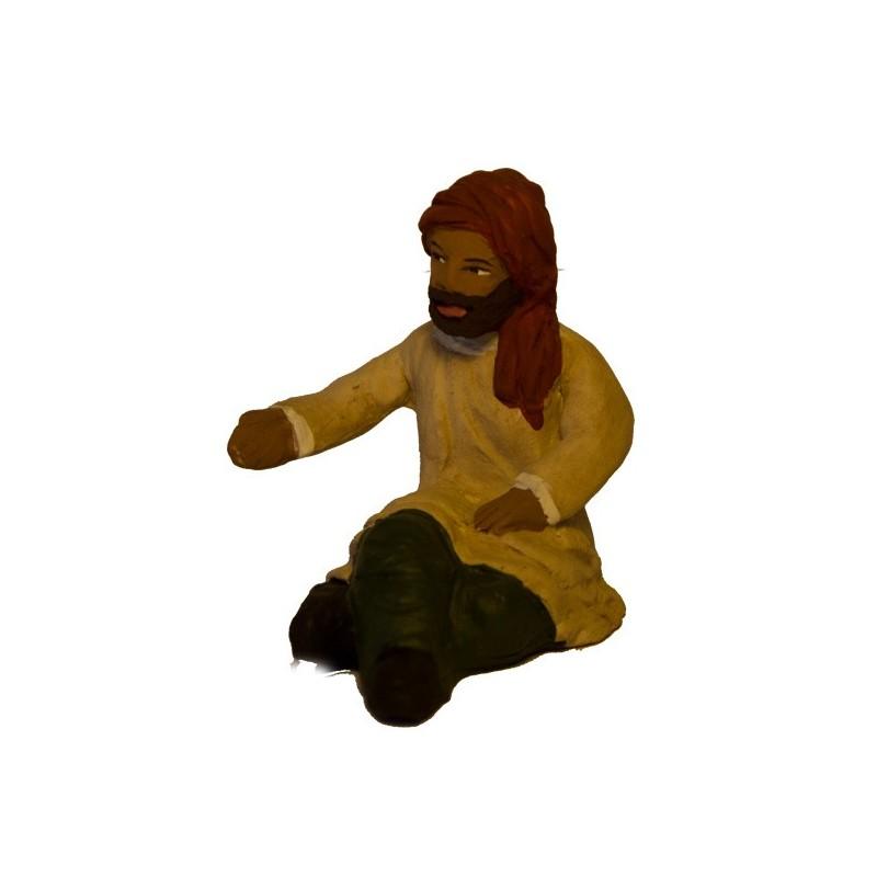 homme assis modèle N°1 collection orientale