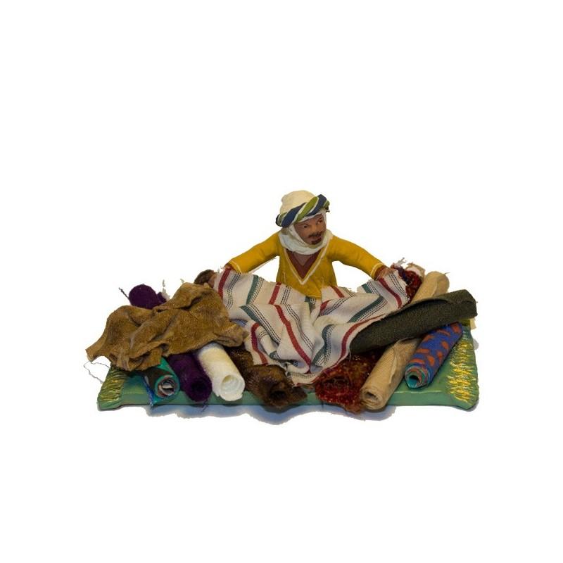 vendeur d'étoffes collection orientale