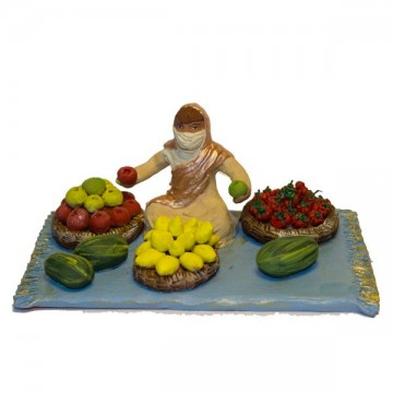 vendeur de fruits collection orientale