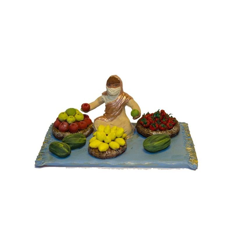 vendeur de fruits collection orientale