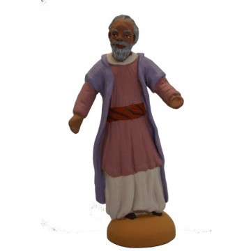 homme oriental debout barbe grise