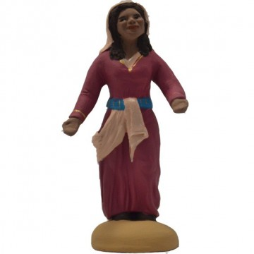 Jeune femme debout modèle N°1 collection orientale