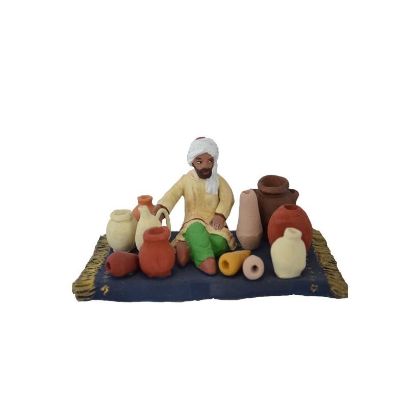 Vendeur de poteries collection orientale