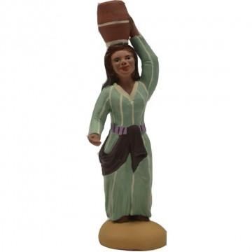 Jeune femme porteuse de cruche collection orientale