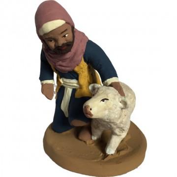 le berger oriental et son agneau