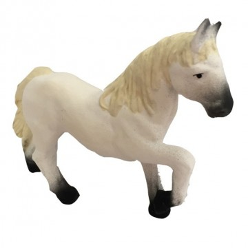 cheval camarguais crinière crème